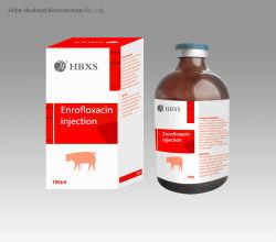 Enroflox 20 L.A. - langer verantwortlicher Enrofloxacin (injizierbarer) Veterinärgebrauch - Antibiotikum