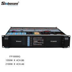 Sinbosen 4X1350W10000P Gruppen Fp Laboratorio de Audio Profesional amplificador de potencia