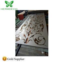 304 à motifs de gravure de miroir en acier inoxydable pour le revêtement intérieur de l'élévateur