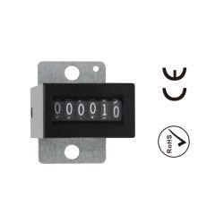 Yaoye 6V & 12V gelijkstroom 6 Digitale Elektro Mechanische Teller Digtis met het Opzettende Type van Bodem