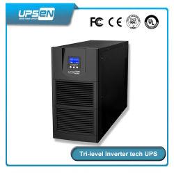 On-line de alta freqüência de alimentação UPS 6kVA - 10kVA com inversor de nível três Tech e 94% de eficiência