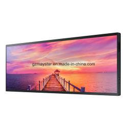 Estirado de 19 pulgadas Monitor LCD Ultra Wide Entrada HDMI Bar Media Player