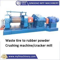 Sucata de cracking Pneu Mill para pó de borracha a partir de resíduos de pneumáticos