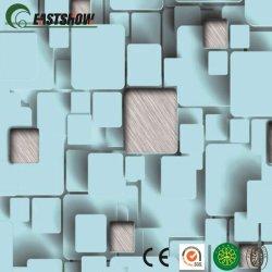 Новый 3D стереоскопические шаблон ПВХ обои для украшения на стену