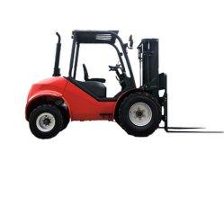 3 Tonne, 3.5ton 4WD alle raues Gelände-Gabelstapler, Dieselgabelstapler, 4 Rad-Laufwerk-Gabelstapler, Gabelstapler des rauen Gelände-2dw, Allroad Gabelstapler