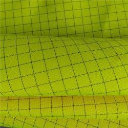 96%4%Poliéster Fibra de carbono Workwear uniforme ESD Oxford
