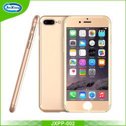 3 в 1 жесткого корпуса ПК для iPhone 7 передних очистить стекло пленки 360 градусов для всего тела или крышку телефона случае покрытие для iPhone 7 дела