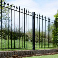 Revêtement en poudre de la sécurité de la piscine en fer forgé clôture Panneau