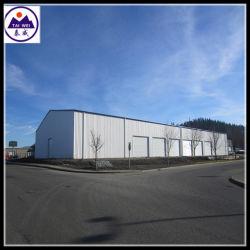 Struttura d'acciaio di costruzione chiara prefabbricata poco costosa del capannone/magazzino/workshop di /Peb/Aircraft (TW457J)