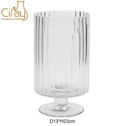 China Cilindro grossista de Fábrica de Vidro artesanais suporte para velas