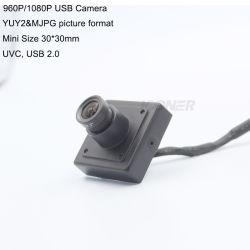 Camera van kabeltelevisie van de Bestuurder 30fps van de Levering 1.3/2.0MP van China de Vrije met Haven USB voor het Industriële Toezicht van de Apparatuur