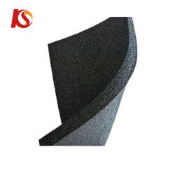Isolamento termico di gomma impermeabile a prova di fuoco della stuoia della gomma piuma