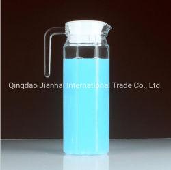 Baixo preço por grosso arrefecer vidro chaleira Striped Pot / chaleira de Bebidas