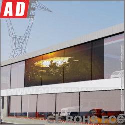 Exterior semi ver a través de la pantalla LED con el Servicio Posventa Indoor LED pantalla gigante de publicidad