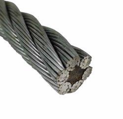 Для тяжелого режима работы оцинкованного стального троса 6X19+FC