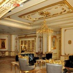 Maydos Exterior de pared resistente a la intemperie pintura de oro