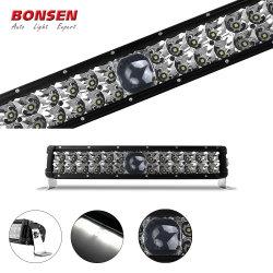 La luz de conducción con láser 2 filas de camiones 4X4 Super brillante 8000m coche barras LED de iluminación láser para la carretilla offroad