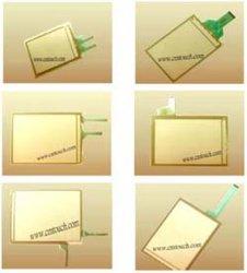 Touchscreen het Glas van het Comité van het Membraan vervangt voor Hakko V606 & FUJI UG220H