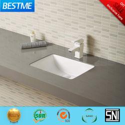 浴室Bc-7804のための反対の陶磁器の洗面器の下の正方形の形