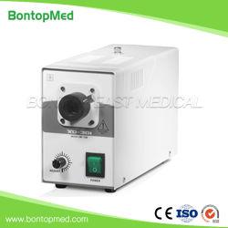 ダブル光ファイバー顕微鏡産業用照明ハロゲン低温光源