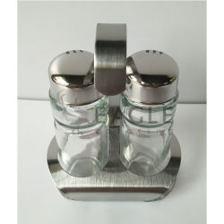 2 элемента для пряностей соль и перец