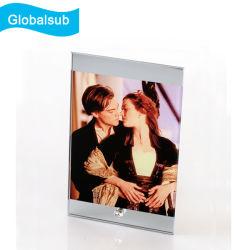 Décoration de mariage cadeau en verre avec une impression à image Mirrow