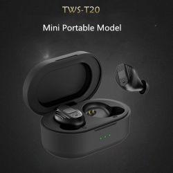 Teana Tws T20 Handy kundenspezifische Handfree Kopfhörer-Geräusche, die Bluetooth Earbud wasserdichten drahtlosen Kopfhörer-Kopfhörer beenden