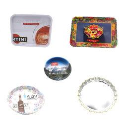スキッドの抵抗のブリキの皿の錫の皿の金属の皿の保有物のコップの皿