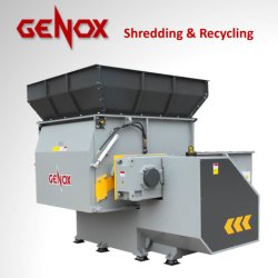 金属の粉砕機のペーパー木製のプラスチック機械単一シャフトのシュレッダーのための(BH1500)