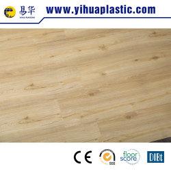 Gran tablón de madera flotante Lvt PVC Beleved haga clic en el piso de vinilo