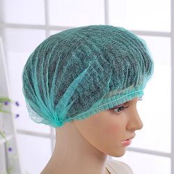 Wegwerpbare hoofdkap voor verpleegmuts, niet-geweven, elastisch, met CE