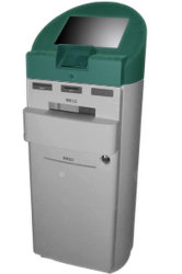 Selfservice Touchscreen Bank Pass and List Printing Kiosk (A1)