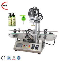 Hzpk 플라스틱 물 정유 병 마개 밀봉 캡핑 기계