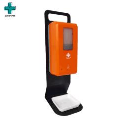 Logo personnalisé Equipsafe Touchless automatique du capteur de plateau de table d'alcool Hand Sanitizer Distributeur de savon