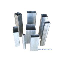 Poids de 50 x 150 x 1,5 ms galvanisé Square tubes creux rectangulaire
