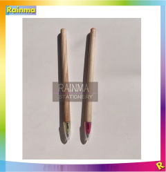 Bolígrafo de madera barata para regalo promocional con logo Imprimir