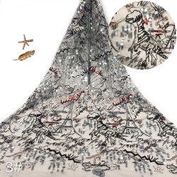G1756-1-52 Water-Soluble textil de alta calidad de Tela bordado tul bordado extravagantes disfraces diseños bordados