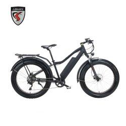 "Fahrrad-Zerhacker-fetter Aluminiumgummireifen Ebike elektrisches Fahrrad E-Fahrrad 48V 500W 750W des Großverkauf-26 "" preiswerter"