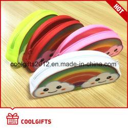 Nuovo raccoglitore della borsa della moneta delle donne e dei capretti del silicone del Rainbow di disegno