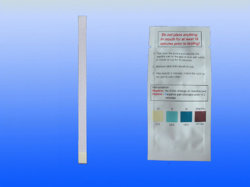 As Tiras de teste de saliva de álcool/álcool tiras de teste/álcool tiras de teste