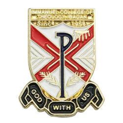 Kundenspezifische Armbinde Hogwarts Schlüsselabzeichen für Superheld-Veteranen-Emblem