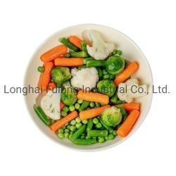 Wholeseles 중국 IQF에 의하여 섞이는 야채, IQF 야채 혼합, 언 혼합 야채, 식물성 혼합, 소매에서 또는 식품 공급 또는 부피 포장되는 방법 2/3/4/5/6