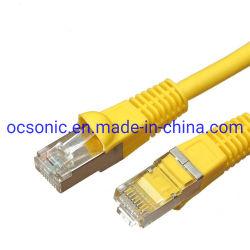 Hochgeschwindigkeits-Steckschnür der Ethernet-Kabel-Katze-6A SFTP
