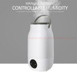 Haut de remplissage avec Humidificateur ultrasonique Mist Cool lampe colorée