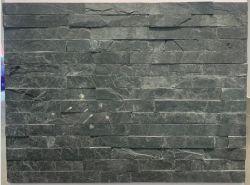 Foshan noir tuile artificielle cultivés en plein air en pierre naturelle de l'Ardoise mosaïques mosaïque de marbre Panneau mural