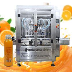 A linha de enchimento de suco de preço de fábrica de suco de suco de frutas enchendo destampar a linha de produção de Embalagem / Máquina de engarrafamento / unidade de transformação