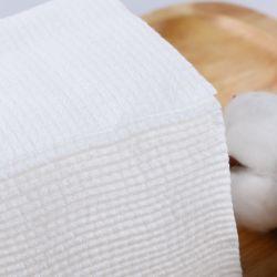 Draagbaar Beschikbaar Katoenen van het Gezicht van de Handdoek van het Vlekkenmiddel van de Make-up Schoonmakend Natuurlijk Zacht Zuiver Weefsel