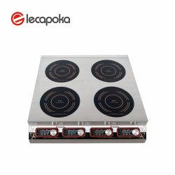 220V 3000W 4 가열기 감응작용 난로 Prtable 산업 무거운 일본 전자 유도 Cooktop