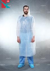 À prova de grossista descartáveis de plástico impermeável de vários tamanhos PE Raincoat