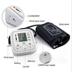 Sphygmomanometer del video di pressione sanguigna delle fasce di manopola di alta esattezza dell'affissione a cristalli liquidi Digital